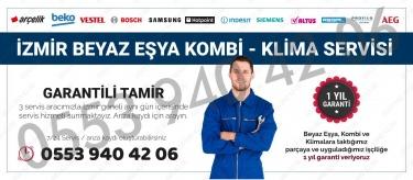 İzmir Beyaz Eşya Kombi Klima Servisi