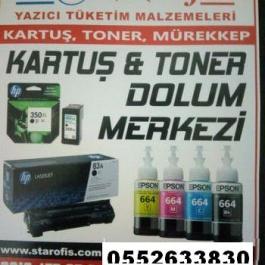Küçükköy Toner Satış ve Karuş & Toner Dolum Merkezi  Cep:05526338303 -  02124773720